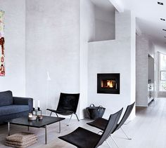 #living room #fire place