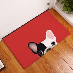 Adorable Pug Floor Mat #buldog