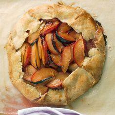 rustic plum tart--martha