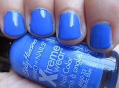 Sally Hansen Pacific Blue  my ALL time favorite from them.