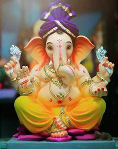 History of Ganesh Chaturthi In India, every Hindu loves to celebrate the Ganesha Utsav a. Jai Ganesh, Ganesh Lord, Ganesh Idol, Ganesh Statue, Shree Ganesh, Ganesha Art, Ganesh Chaturthi Photos, Happy Ganesh Chaturthi Images, Ganesh Chaturthi Decoration
