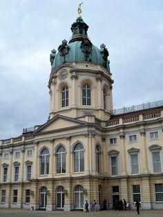 Charlottenburg Palace, Berlin, 1695-1713, by Johann Arnold Nering
