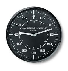 The Pilot Wall Clock is presented in a premium brushed silver metallic case with a dial inspired by vintage military pilot's watches. Pilot style hour and minut The Time In Between, Swiss Made Watches, Zurich, Clock, Wall, Times, Modern, Watch, Trendy Tree