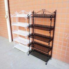 Metal Storage Racks, Shelving Racks, Rack Shelf, Bathroom Shelves, Cool Things To Buy, Stuff To Buy, Magazine Rack, I Am Awesome, Flooring