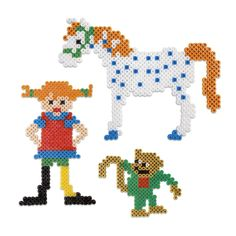 PIPPI PEARLSET 2000 PCS Hama Beads Design, Hama Beads Patterns, Beading Patterns, Diy For Kids, Crafts For Kids, Pearl Beads Pattern, Pippi Longstocking, Peler Beads, Perler Bead Art