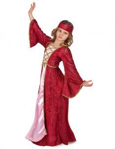 5bf199852d910e Déguisement reine médiévale fille-1 Reine, Princesse, Fille, Deguisement  Enfant, Achat