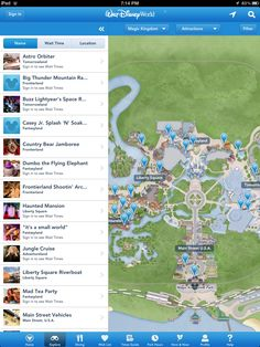 "Walt Disney World offers new FREE app for iPad & iPod: ""My Disney Experience""!"