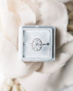 oval cut engagement ring...wouldn't say no!