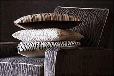 Zambezi Harlequin Fabrics, Fabric Wallpaper, Ivory, House Design, Throw Pillows, Bedding, Tower, Australia, Inspiration
