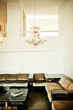 Corner sofa (Hotel Wiesler, Graz, Austria)