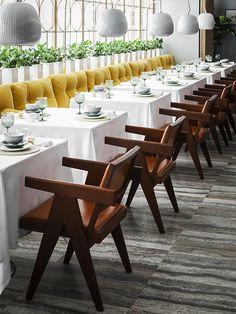 Mesas Produzidas de Restaurante