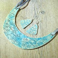 Roma - náhrdelník od Permata Egypt, Washer Necklace, Turquoise Necklace, Jewelry, Jewlery, Jewerly, Schmuck, Jewels, Jewelery