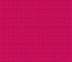 Now for sale!!! chevron-crimson pink fabric by shy_bunny on Spoonflower - custom fabric