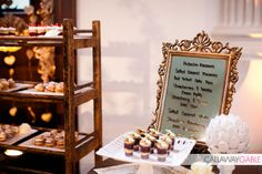 Music themed wedding dessert table by Bella Destinee