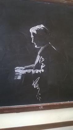 Federico Lucidi: Chalk works - Lavori di Gesso
