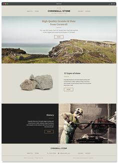 Cornwall Stone on Web Design Served