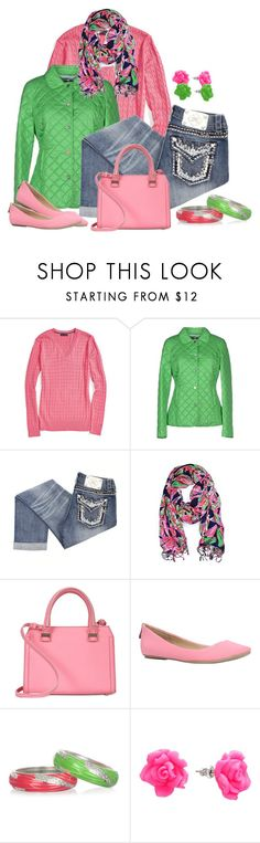"""""""Sequin & Neon Bangles"""" by michigangirl84 ❤ liked on Polyvore featuring Tommy Hilfiger, Husky, Miss Me, Lilly Pulitzer, Victoria Beckham, Call it SPRING, Sequin and Candie's"""