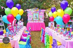 Shopkins party spread from a Shopkins Birthday Party via Kara's Party Ideas | KarasPartyIdeas.com (19)