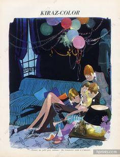 Edmond Kiraz 1967 Les Parisiennes, Surprise-Party