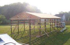 pole barn | How to Build a Pole Shed