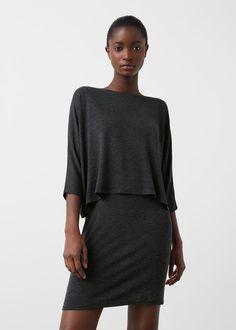 Double layer dress -  Woman | MANGO Slovenia