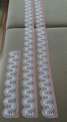 Hairpin Lace Crochet, Crochet Motif, Crochet Shawl, Crochet Doilies, Crochet Edgings, Crochet Curtains, Crochet Tablecloth, Bead Loom Patterns, Knitting Patterns