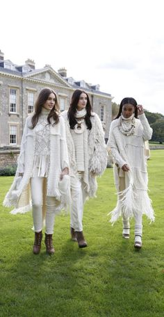 Elegance at Althorp: Ralph Lauren presents an exclusive fashion presentation of the Fall '15 Collection in Northamptonshire, England.