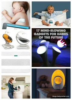 17 cool gadgets for babies of the future.