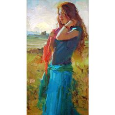 Nancy Seamons Crookston, Figurative Paintings, Oil Painters of America ❤ liked on Polyvore