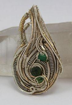 ©Daniel Donohue #wirewrap #jewelry #wirewrapjewelry
