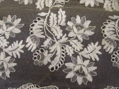 Blonde de Caen Needle Lace, Bobbin Lace, Types Of Lace, Linens And Lace, Displaying Collections, Lace Making, Antique Lace, Embroidery, Antiques