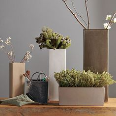 Nothing livens up a space more than fresh flowers, so keep a mini bouquet or something botanical on your vanity. West Elm Ceramic Vases ($8.99-14.99) can also be used to store makeup brushes.