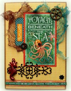 Blue Barn Creatief: Graphic45 - Voyage Beneath the Sea