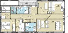 Svånåtinden - Tinde Hytter Floor Plans, Floor Plan Drawing, House Floor Plans