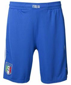 Puma - Herren Fußball Home Short Italien WM 2014 #puma #brazil2014 #italia