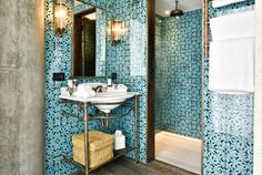 Soho House opens in Istanbul: Turkish tiles feature in some of the bathrooms.