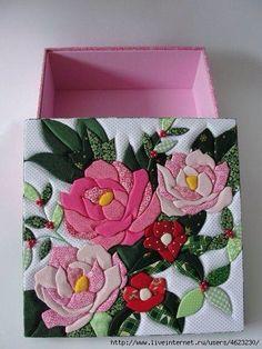 Rose Applique, Applique Quilts, Applique Designs, Quilting Designs, Puffy Quilt, Diy And Crafts, Arts And Crafts, Japanese Quilts, Flower Quilts