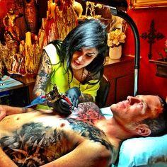 b96484f85 47 Best Kat Von D Portfolio images in 2018 | Kat von d tattoos, High ...