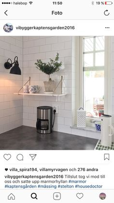 Nordic KitchenKitchen TilesKitchen DiningDining RoomsKitchen RenoDining  Room DesignWhite KitchensKitchen WhiteIdeas Para