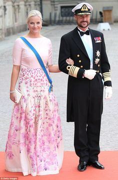 Tenth place: Norway's Princess Mette-Marit placed last, with some suggesting her poll imag...