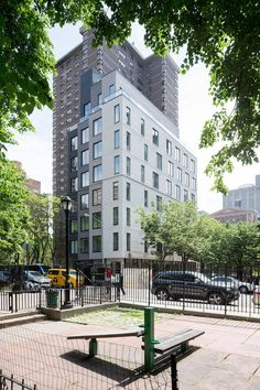 The Carmel Place, first micro-unit apartments building in New-York thank by nArchitects.
