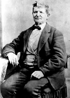 /John Doyle Lee. Only person convicted of the Mountain Meadows Massacre.