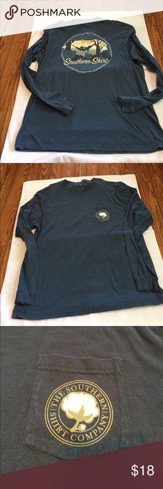 The Southern Shirt Company long Tshirt SZ XL #SOUTHERNSHIRT. Great used condition! The Southern Shirt Company Tops Tees - Long Sleeve