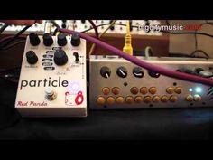 Red Panda Particle pedal w/ Critter & Guitari Pocket Piano - YouTube