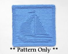 SEA TURTLE Knitting Pattern PDF Instant by AuntSusansCloset
