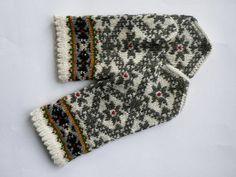 mittens, stranded knitting