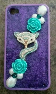 !Iphone 4 Cell Phone Cases, Iphone 4, Belly Button Rings, Handmade, Deco, Jewelry, Hand Made, Jewlery, Jewerly