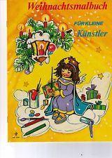 Vintage 70er Jahre Pestalozzi Malbuch f. d. Weihnachten 1976