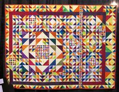Half Crazy, All Lucky by Margaret Williams, Quilt Market 2015 Houston