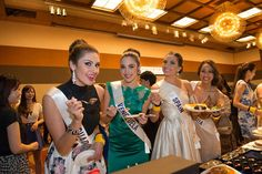 Candidatas al Miss International 2015, en las Actividades del Concurso..